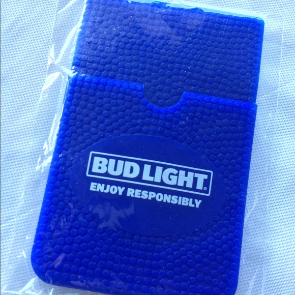 huge selection of b77e7 e1b5b Bud Light LimitedEdition Phone Credit Card Holder. NWT